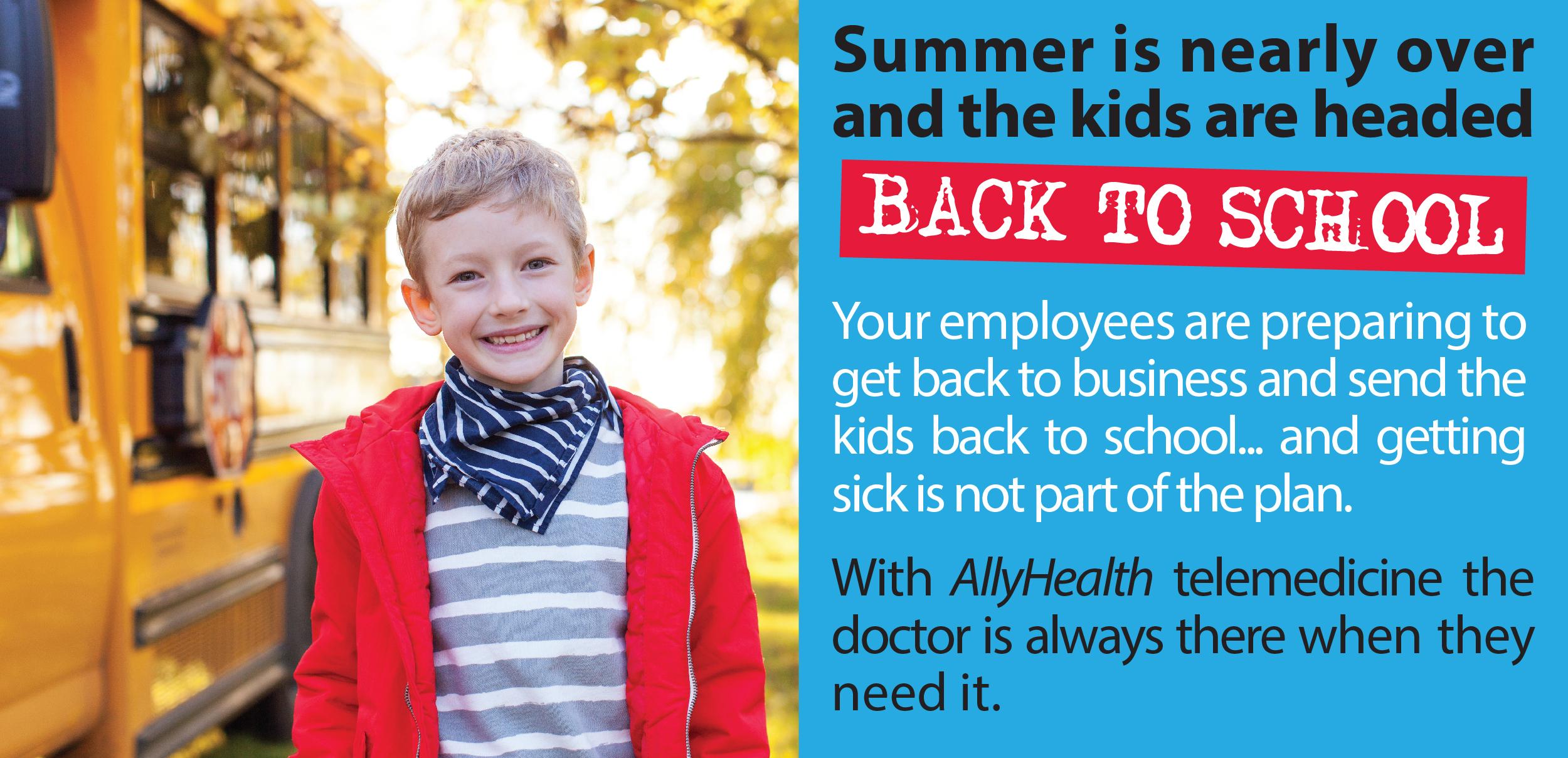 AllyHealth back to school image