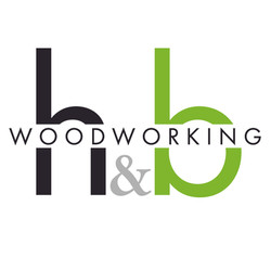 HandB Woodworking logo