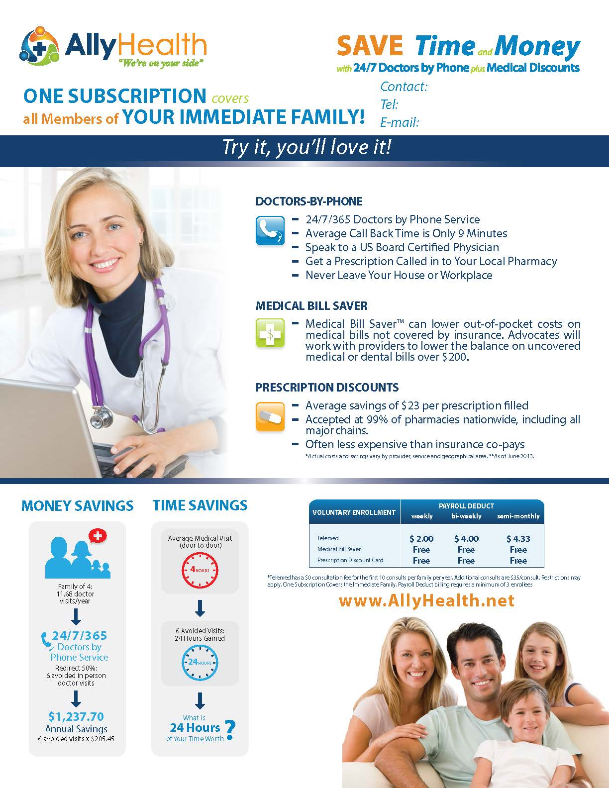 Flyer: AllyHealth