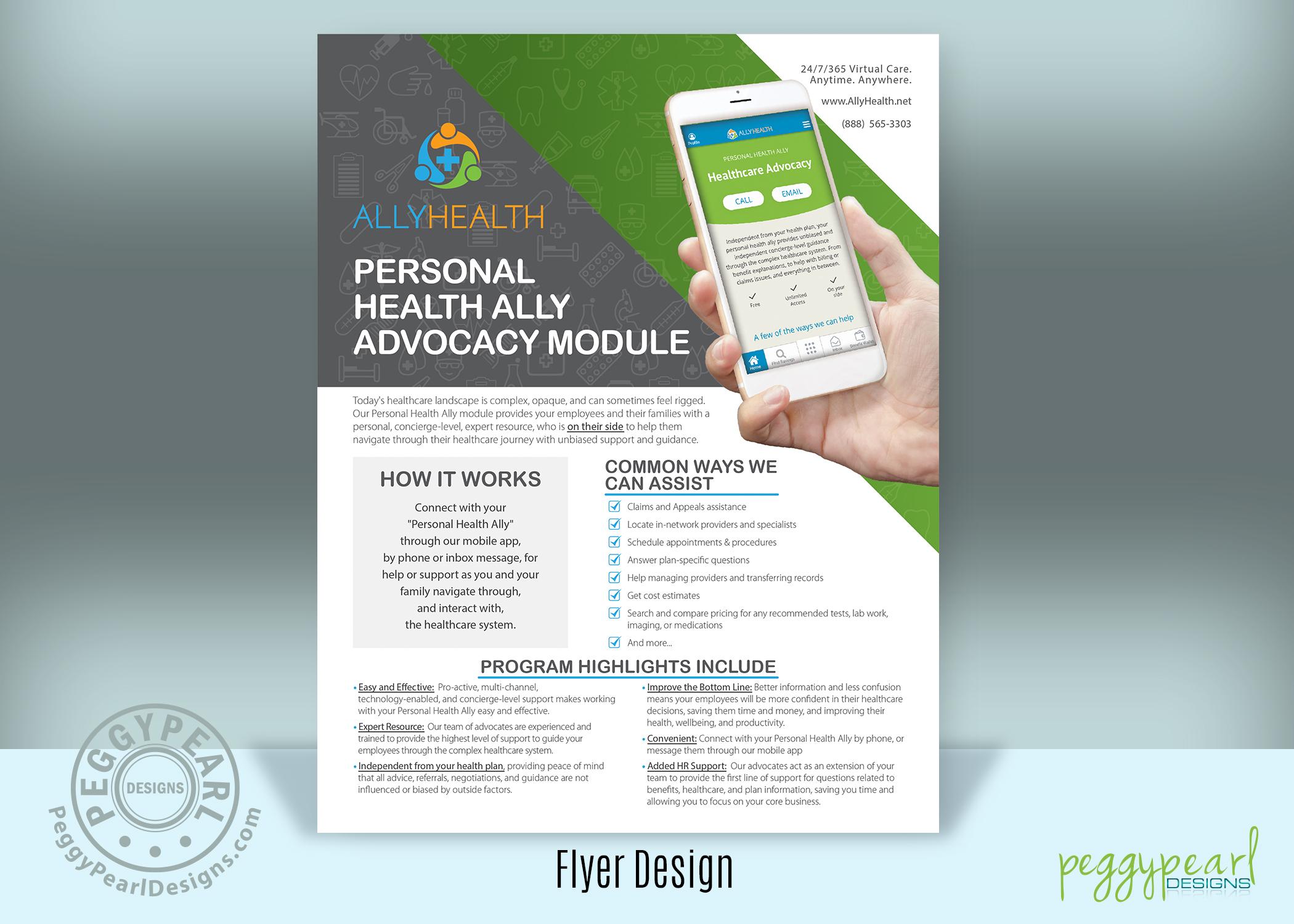 AllyHealth flyer Health Ally