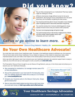 Flyer: Discount Drug Network