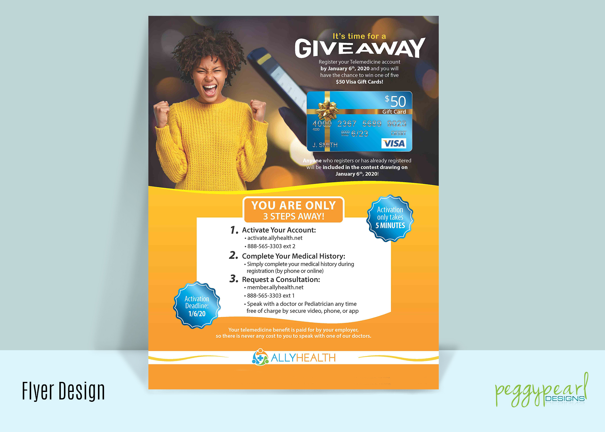 Flyer AllyHealth Give Away