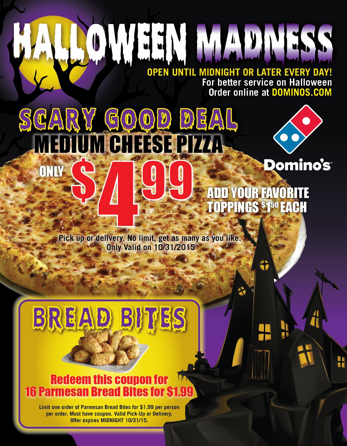 Flyer: Domino's