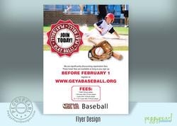 Baseball Flyer