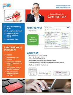 Flyer: PPC Gurus