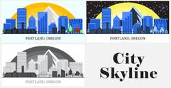 Cityscape-Portland-4-14-21-outlines