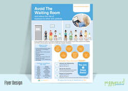 Flyer AllyHealth Avoid Waiting Rooms