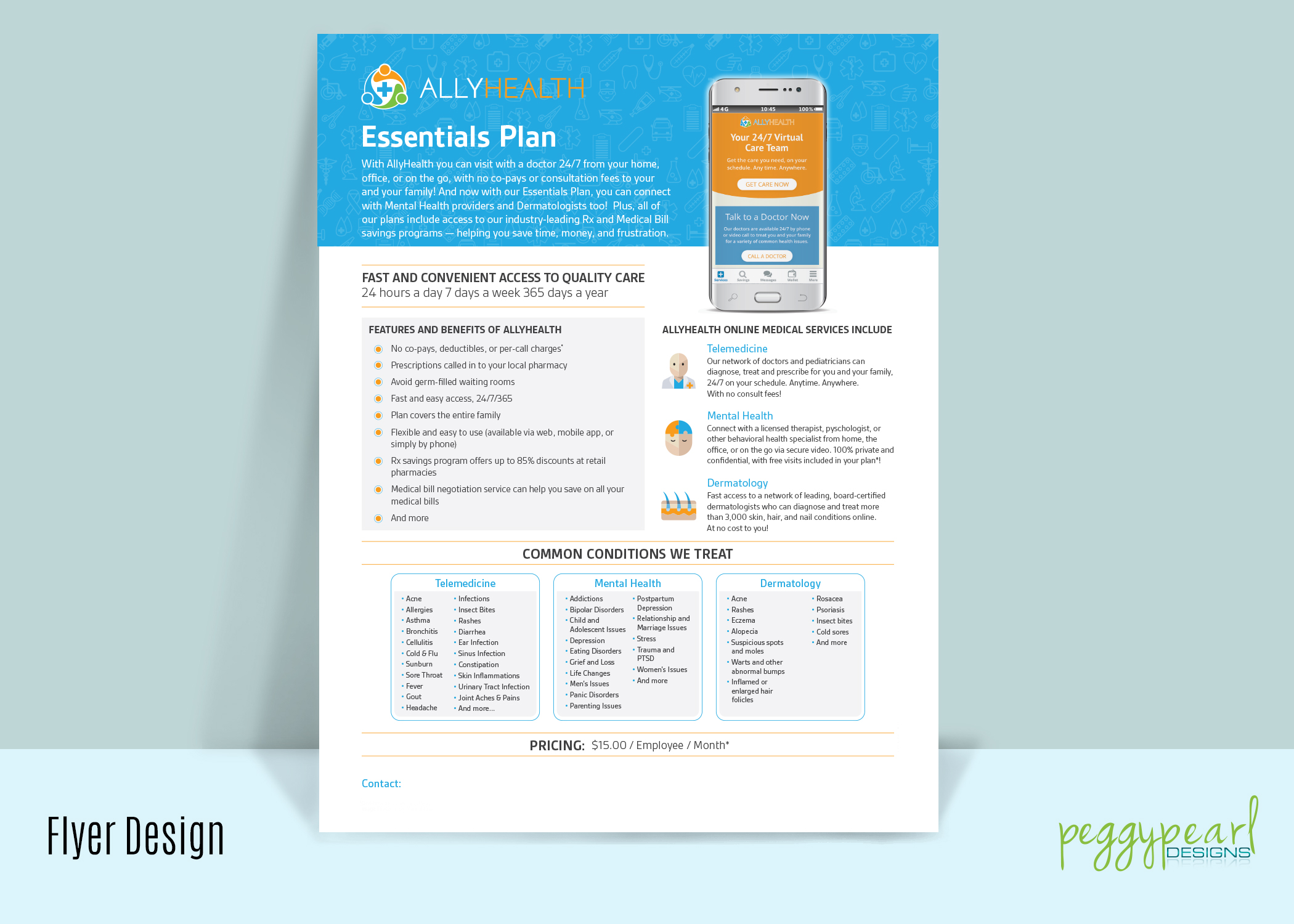 Flyer AllyHealth Plan