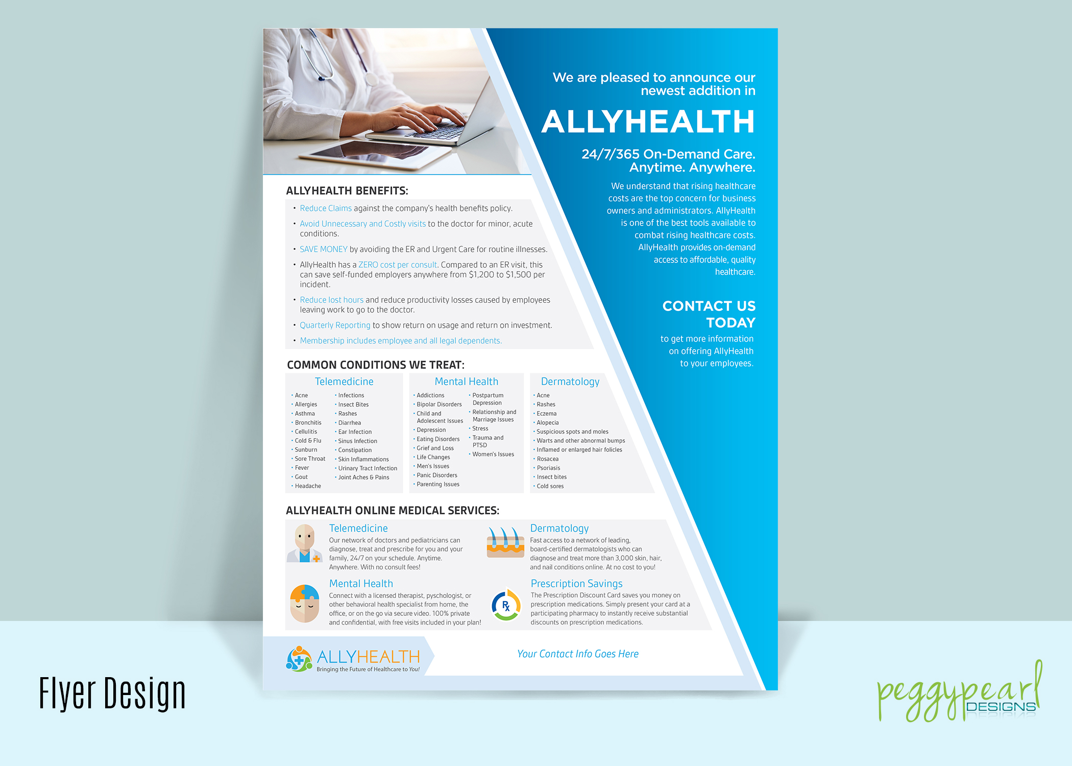 Flyer AllyHealth Benefits