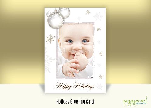 Greeting Card - Holiday Baby
