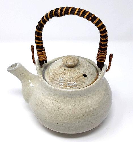 teiera giapponese in ceramica