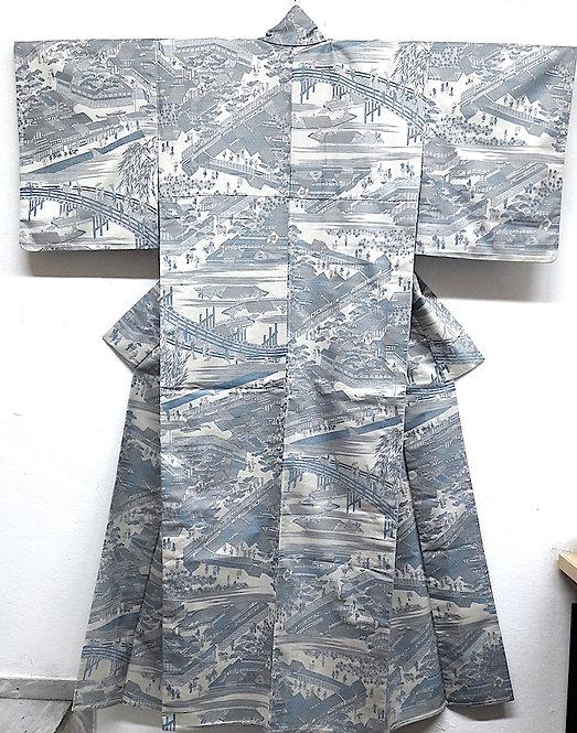 "Kimono ""KOMON OLD KYOTO"""
