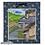 Thumbnail: 🀄 Supporto per dipinti SHIKISHI - pattern blu