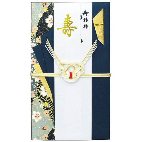 """Biglietto """"MIZUIKI  Sakura blu"""""""