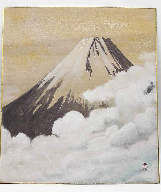 """Shikishi """"KASUMI TO FUJI 霞と富士山"""""""