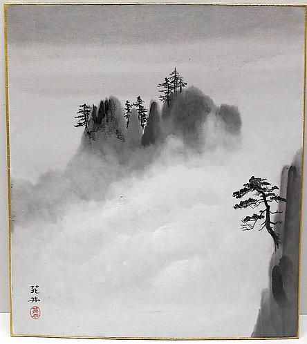 dipinti giapponesi_arte giapponese_shikishi
