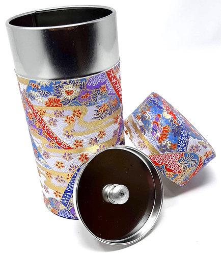 contenitori giapponesi in carta washi per il tè