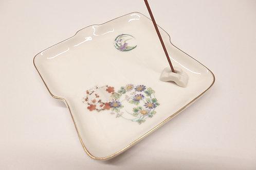 piattino porta incenso giapponese