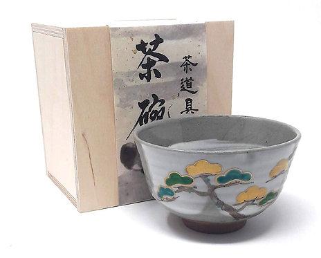 tazza giapponese cerimonia del tè pino matsu