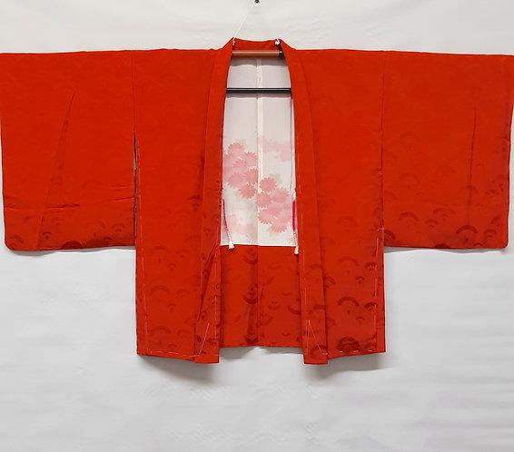 giacca tradizionale giapponese haori rosso