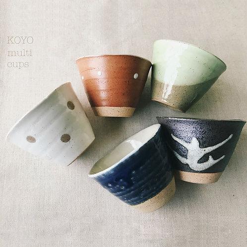 bicchieri da tè giapponesi koyo