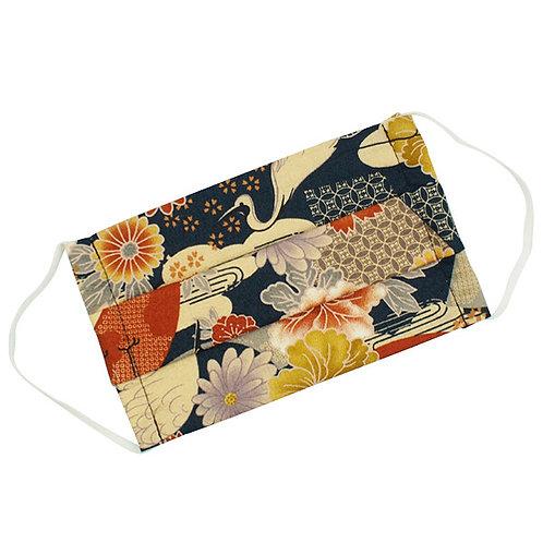 mascherine giapponesi con motivi tradizionali