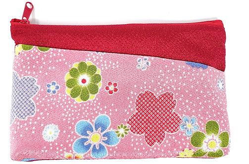 borsette giapponesi trousse rosa