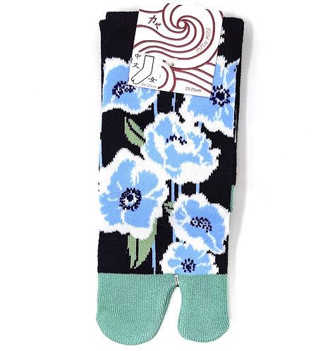 calzini tabi giapponesi peonia