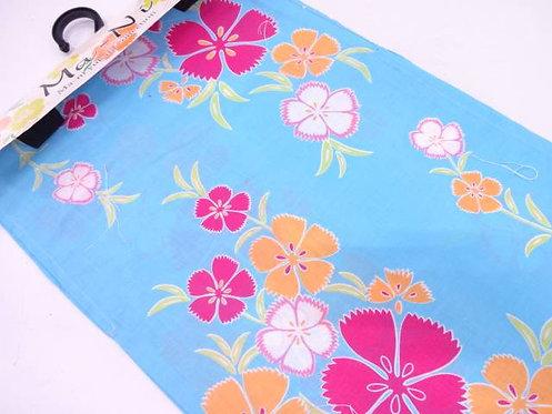 """Kimono yukata """"Shichimenchō 七面鳥"""""""