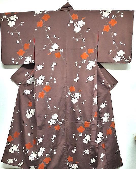 """Kimono """"AKA SHIRO UME"""""""