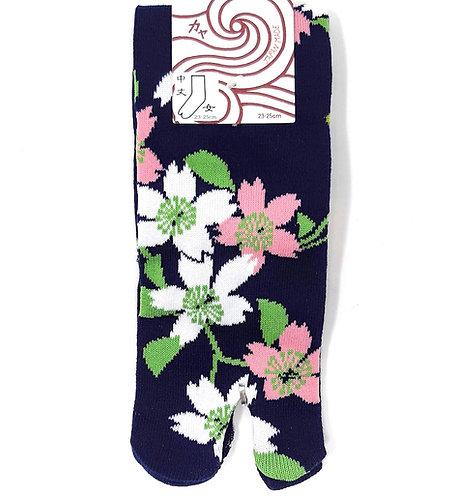 calzini giapponesi tabi sakura fiori di ciliegio