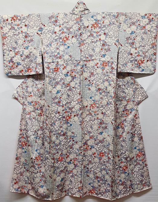 kimono giapponese femminile tsujigahana