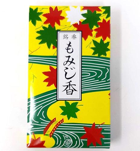 incensi giapponesi momiji foglie d'acero