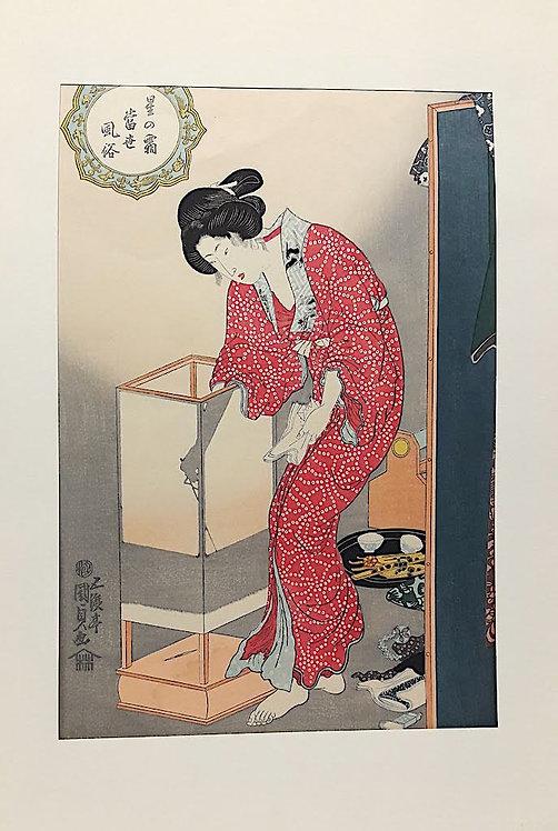 stampe giapponesi ukiyoe sakurasan
