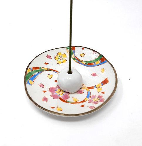 porta incenso in ceramica