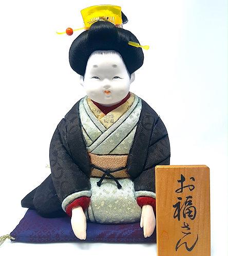 bambola giapponese ofukusan