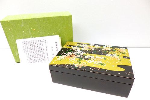scatola laccata giapponese portagioie