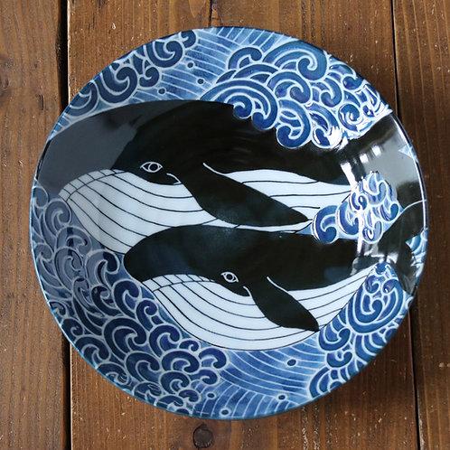 seti di piatti giapponesi balena kujira