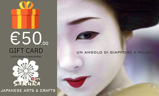 Sakurasan Gift Card