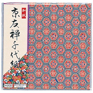 "carta per origami ""KYO YUZEN CHIYOGAMI"""