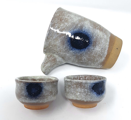 set sakè giapponese shigaraki