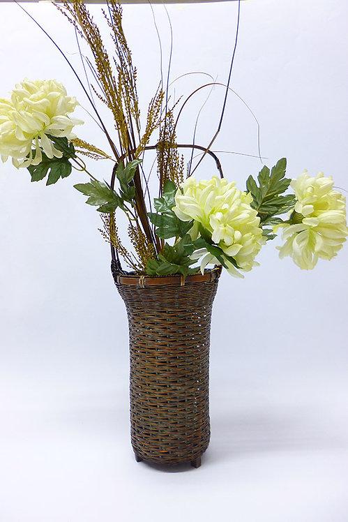 vaso bamboo ikebana