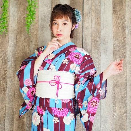 """Kimono yukata """"矢羽 YABANE"""""""