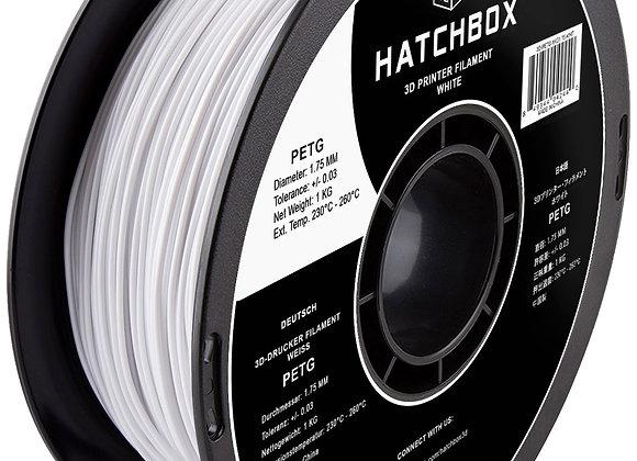 PETG Hatchbox / Blanco / 1Kg / 1.75mm