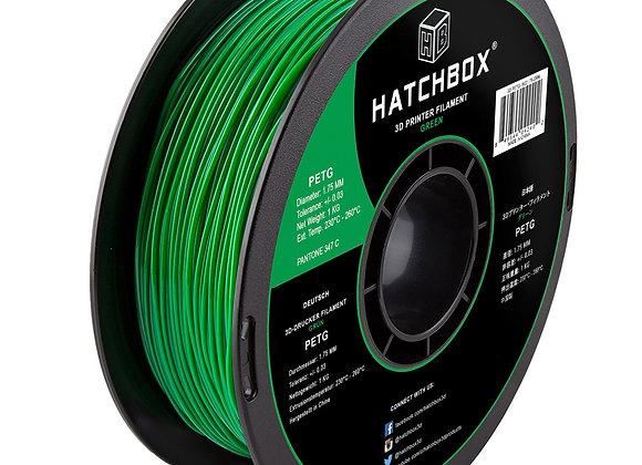 PETG Hatchbox / Verde / 1Kg / 1.75mm