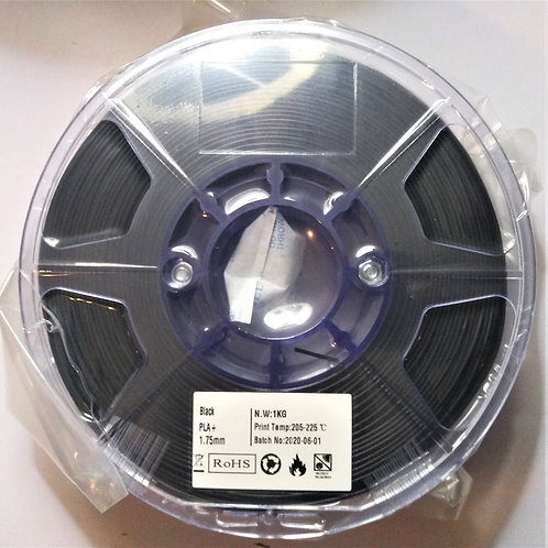 PLA Colorplus / Negro / 1Kg / 1.75mm