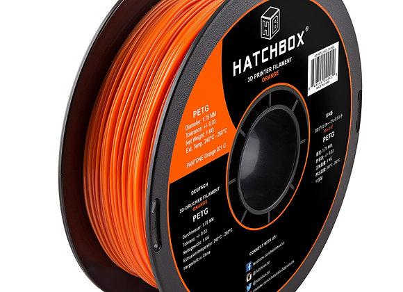 PETG Hatchbox / Naranja / 1Kg / 1.75mm