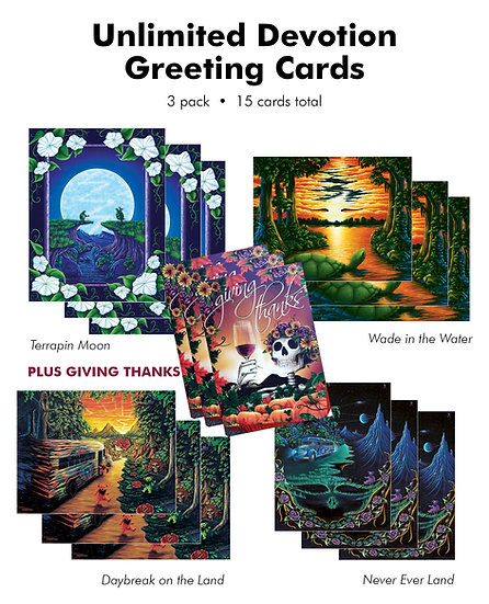 Triple Pack:  Unlimited Devotion Card Series