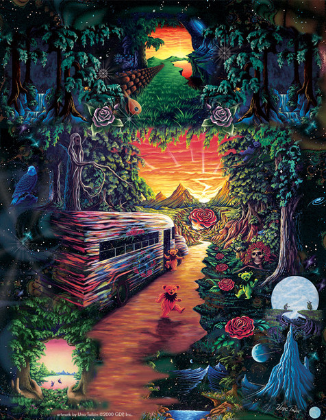 The Psychedelic Bus of Dead Knowledge