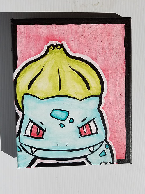 Bulbasaur Red Left